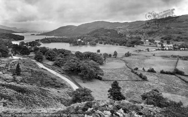Photo of Coniston, The Lake From Beacon's Crag 1929