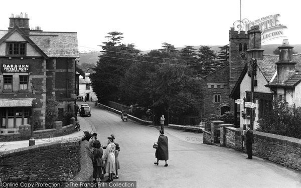Photo of Coniston, The Village 1950