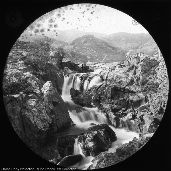 Photo of Coniston, Upper Fall c.1880