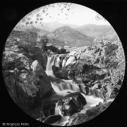 Coniston, Upper Fall c.1880