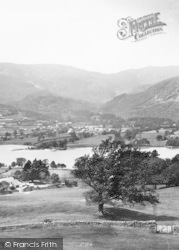 Coniston, Water And Fells 1906