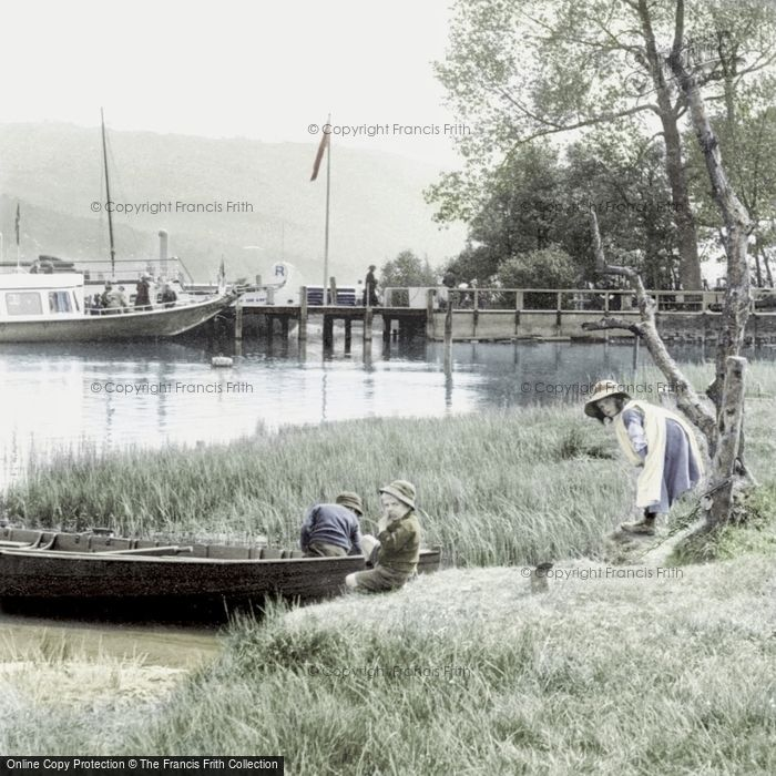 Coniston, Waterhead 1912.  (Neg. 64281t)  � Copyright The Francis Frith Collection 2008. http://www.francisfrith.com
