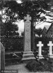 West Side Of Ruskin Memorial c.1890, Coniston