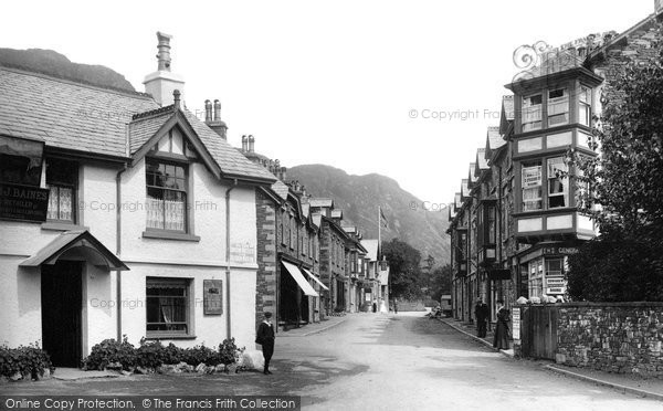 Coniston, Yewdale Road 1906.  (Neg. 54246)  � Copyright The Francis Frith Collection 2008. http://www.francisfrith.com