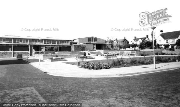 Connah's Quay, the Civic Centre c1965