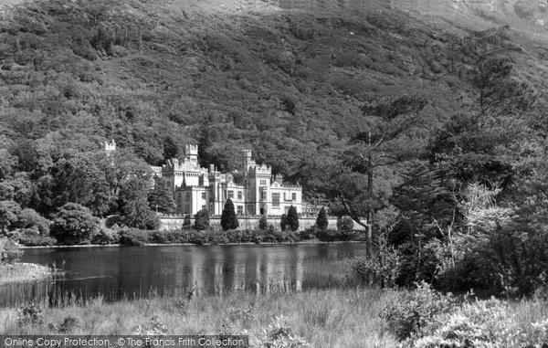 Photo of Connemara, Kylemore Abbey c.1955