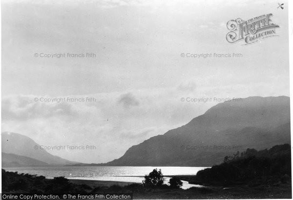 Photo of Connemara, Kylemore Lough c.1955