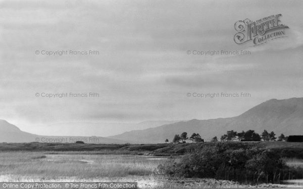 Photo of Connemara, Near Maam Cross c.1955