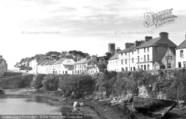 Photo of Connemara, Roundstone From The Harbour c.1955