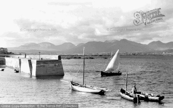Photo of Connemara, Roundstone Harbour And The Twelve Pins c.1955