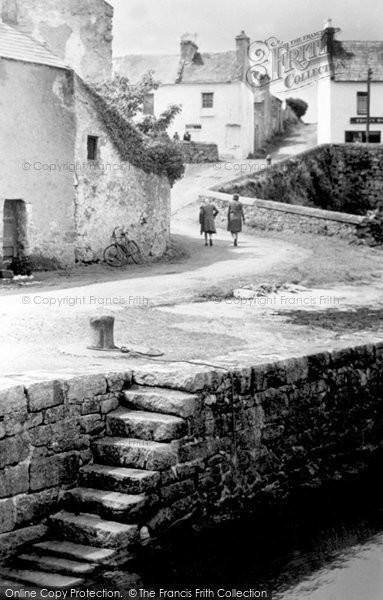 Photo of Connemara, The Harbour Steps c.1955