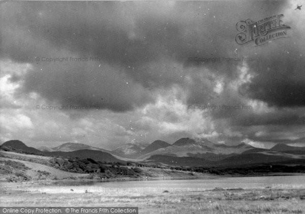 Photo of Connemara, The Twelve Pins And Lough Ballynakill c.1955