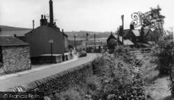 Cononley, Railway Crossing c.1960