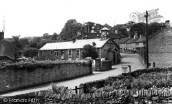 Cononley, Village Institute c.1960