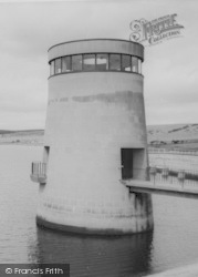 Consett, Derwent Reservoir Tower c.1965
