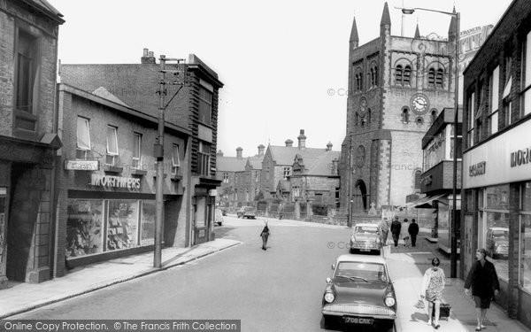 Photo of Consett, Middle Street c.1965