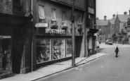 Consett, Mortimers, Middle Street c1965