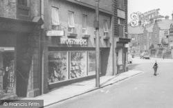 Consett, Mortimers, Middle Street c.1965