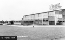 Consett, The Swimming Baths c.1965