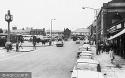 Consett, Victoria Road c.1965