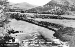 The Blackwater And Tor Achilty c.1935, Contin