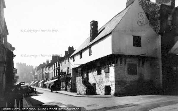 Photo of Conwy, Aberconway House (1300) 1940