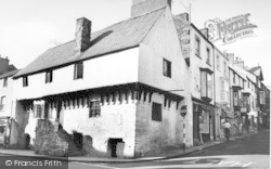 Conwy, Aberconway, The Oldest House c.1960