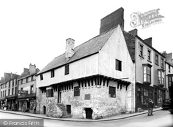 Conwy, Aberconwy, The Oldest House c.1955