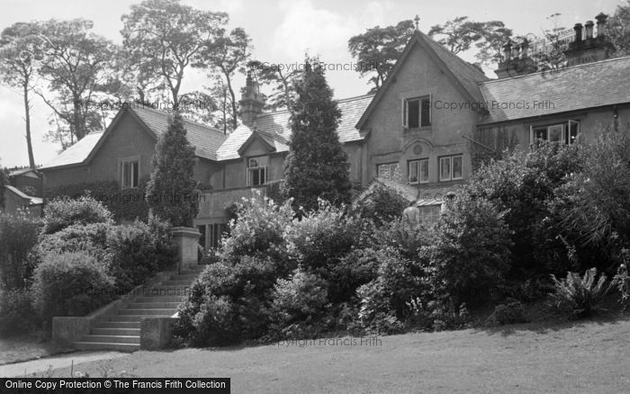 Photo of Conwy, Beechwood Court c.1950