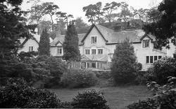 Conwy, Beechwood Court c.1955