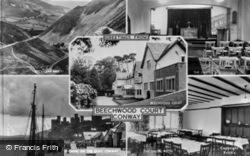 Conwy, Beechwood Court Composite c.1955