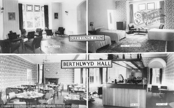 Photo of Conwy, Berthlywd Hall Composite c.1960