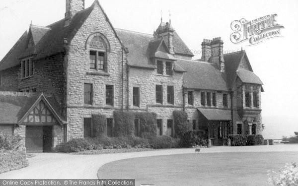 Photo of Conwy, Bonlondeb Hall, Front c.1955