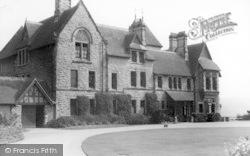 Conwy, Bonlondeb Hall, Front c.1955