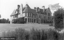 Conwy, Bonlondeb Hall Rear c.1955