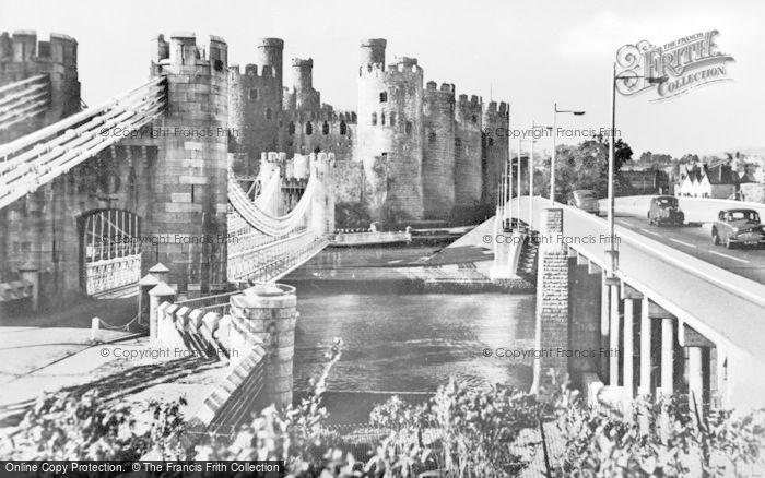 Photo of Conwy, Bridges And Castle c.1950