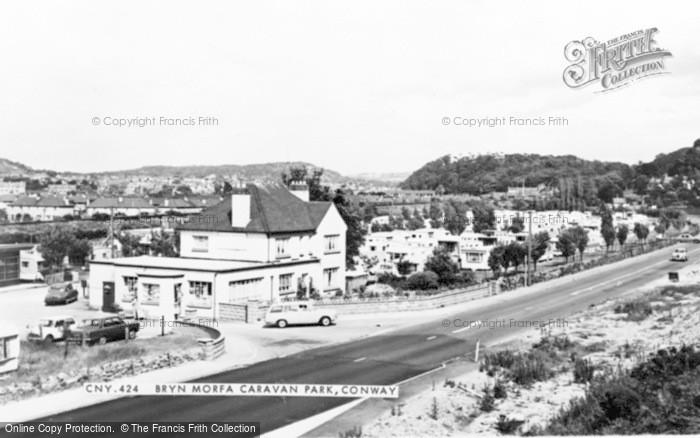Photo of Conwy, Bryn Morfa Caravan Park c.1960