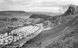 Conwy, Bryn Morfa Caravan Site c.1960