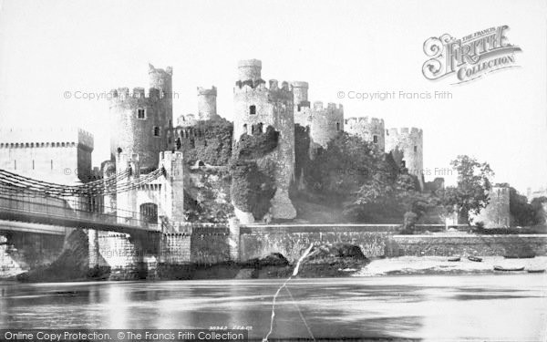 Photo of Conwy, Castle 1892