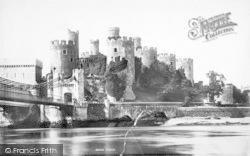Conwy, Castle 1892