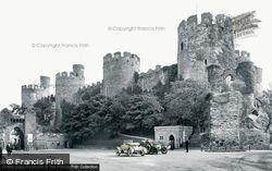 Conwy, Castle 1913