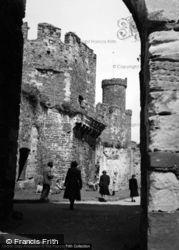 Conwy, Castle 1952