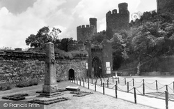 Conwy, Castle And Bridge Entrance c.1950