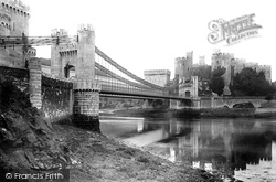 Conwy, Castle And Bridges 1891