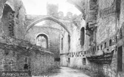 Conwy, Castle, Banqueting Room 1898