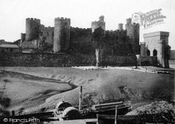 Conwy, Castle c.1870