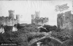 Conwy, Castle c.1875