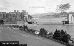 Conwy, Castle c.1950