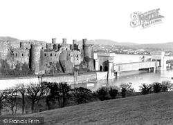Conwy, Castle c.1955