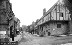 Conwy, Castle Street 1913